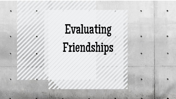 Evaluating Friendships-Revenge of Eve