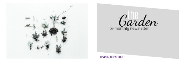 theGarden monthly newsletter webgraphic