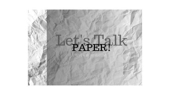 Let's Talk Paper - Revenge of Eve