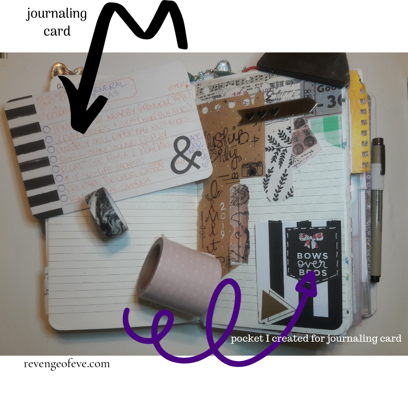 Creative Journaling-Revenge of Eve