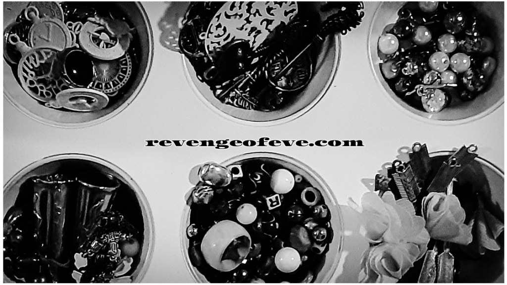 Upcycled muffin tin Revenge of Eve